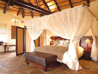 Afrika Lodge » Schlafzimmer